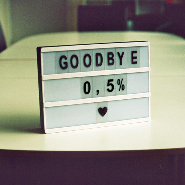 0,5% lån, farvel?